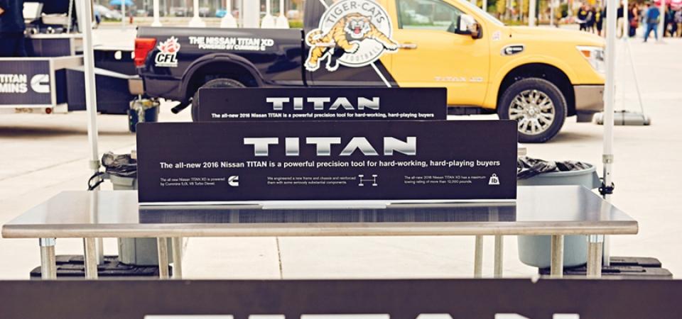 Nissan Titan – Hamilton BBQ